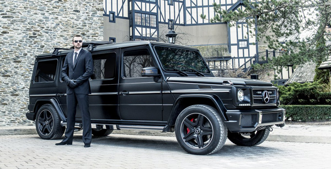 Mercedes-Benz G 63 AMG Limo (8 фото)