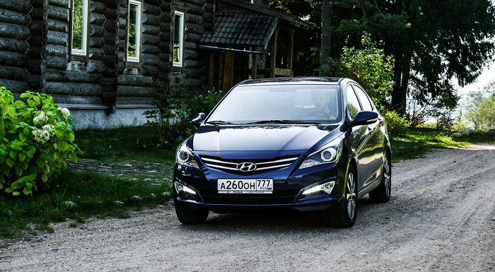 ест-пробег: Hyundai Solaris Special Edition 500000th (6 фото)